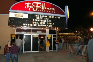 the fillmore auditorium denver