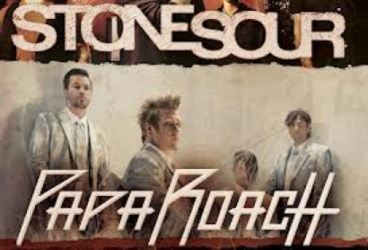 Stone Sour and Papa Roach at Fillmore Auditorium