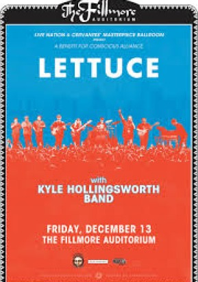 Lettuce & Kyle Hollingsworth Band at the Fillmore Auditorium