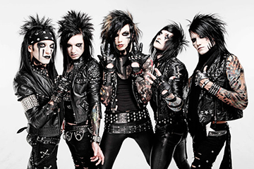 Black Veil Brides - Tour at Fillmore Auditorium