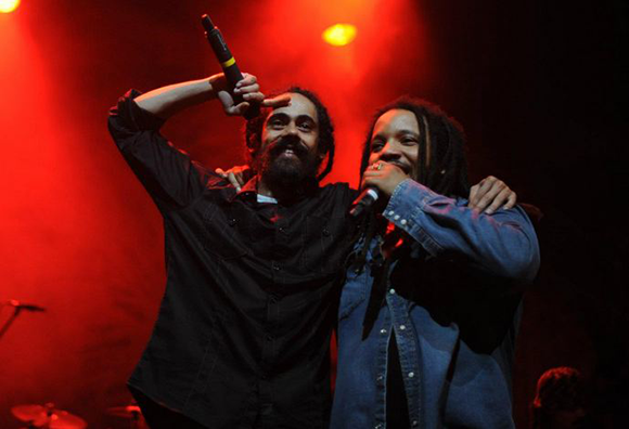 Damian Marley, Stephen Marley, Morgan Heritage & Tarrus Riley at Fillmore Auditorium
