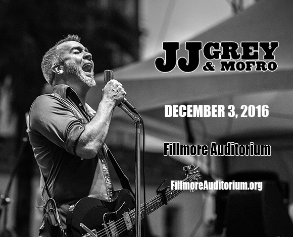 JJ Grey and Mofro, Kyle Hollingsworth Band & Bill Nershi at Fillmore Auditorium