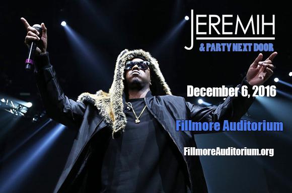PartyNextDoor & Jeremih at Fillmore Auditorium
