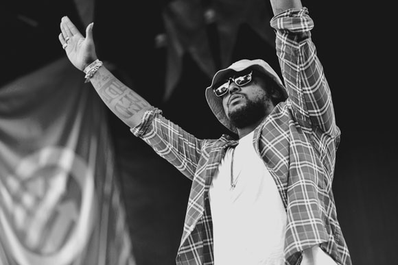 Schoolboy Q & Joey Bada$$ at Fillmore Auditorium