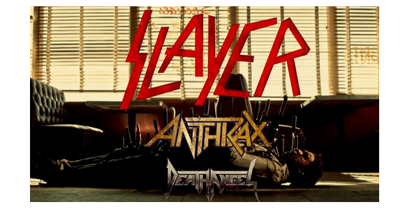 Slayer, Anthrax & Death Angel at Fillmore Auditorium