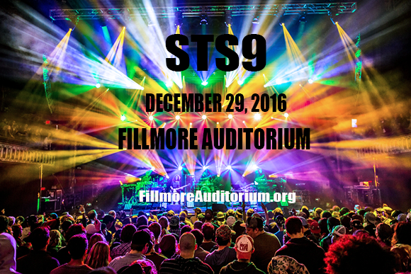 STS9 - Sound Tribe Sector 9 at Fillmore Auditorium