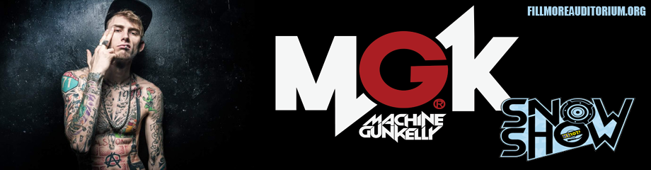 KS 107.5 Snow Show: Machine Gun Kelly at Fillmore Auditorium