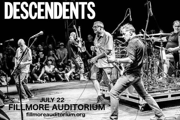 The Descendents at Fillmore Auditorium