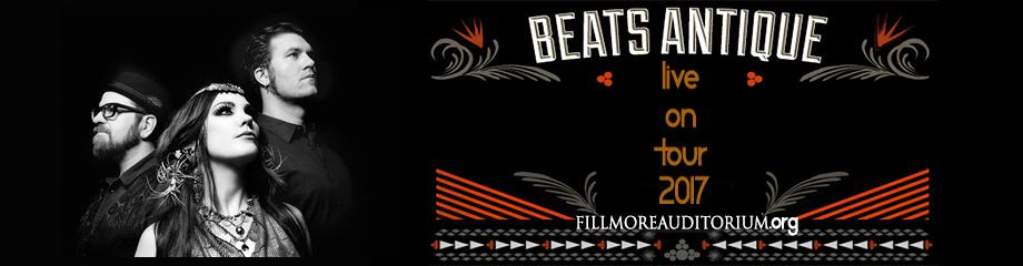 Beats Antique at Fillmore Auditorium