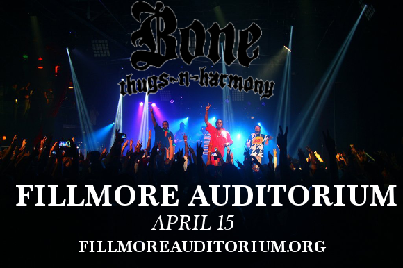 Bone Thugs N Harmony at Fillmore Auditorium