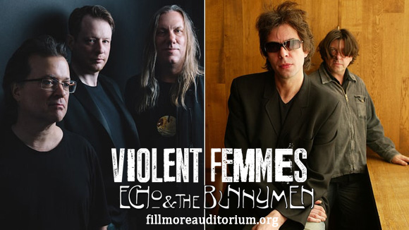 Violent Femmes & Echo and The Bunnymen at Fillmore Auditorium