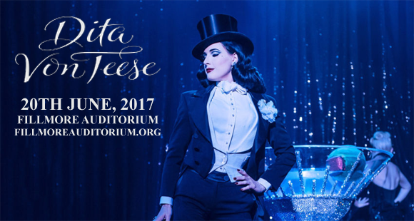 Dita Von Teese at Fillmore Auditorium