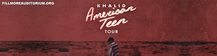 Khalid at Fillmore Auditorium