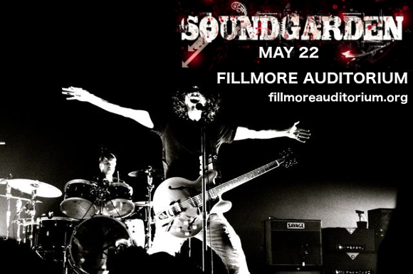 Soundgarden - *CANCELLED* at Fillmore Auditorium