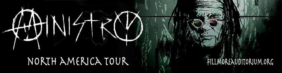 Ministry & Death Grips at Fillmore Auditorium