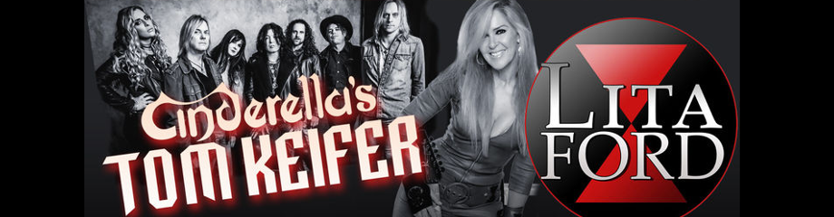 Tom Keifer & Lita Ford at Fillmore Auditorium