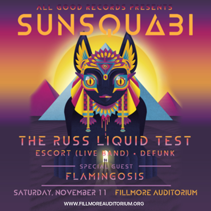 SunSquabi at Fillmore Auditorium