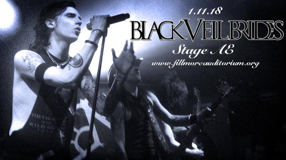 Black Veil Brides & Asking Alexandria at Fillmore Auditorium