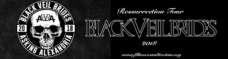 Black Veil Brides & Asking Alexandria at Fillmore Auditorium