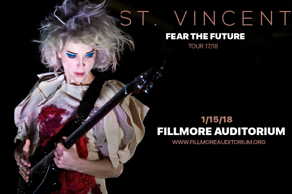 St. Vincent at Fillmore Auditorium