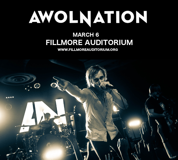 Awolnation & Nothing But Thieves at Fillmore Auditorium