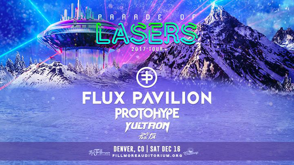 Parade of Lasers 2017 at Fillmore Auditorium
