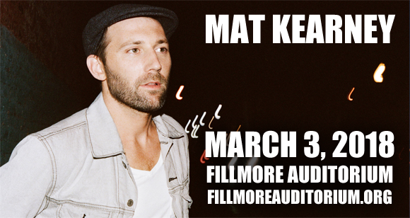 Mat Kearney at Fillmore Auditorium