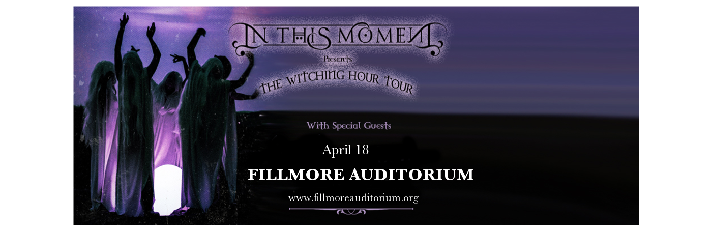 In This Moment at Fillmore Auditorium