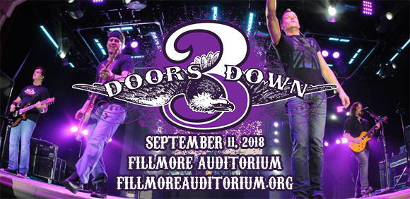 3 Doors Down & Collective Soul at Fillmore Auditorium