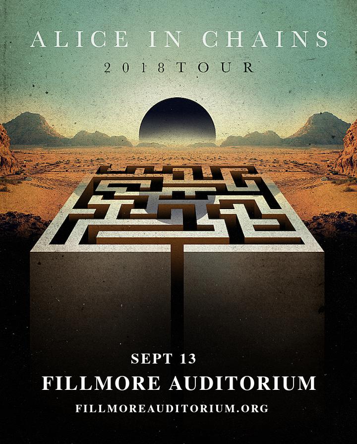 Alice In Chains at Fillmore Auditorium