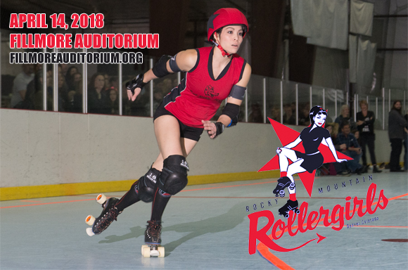 Rocky Mountain Rollergirls at Fillmore Auditorium