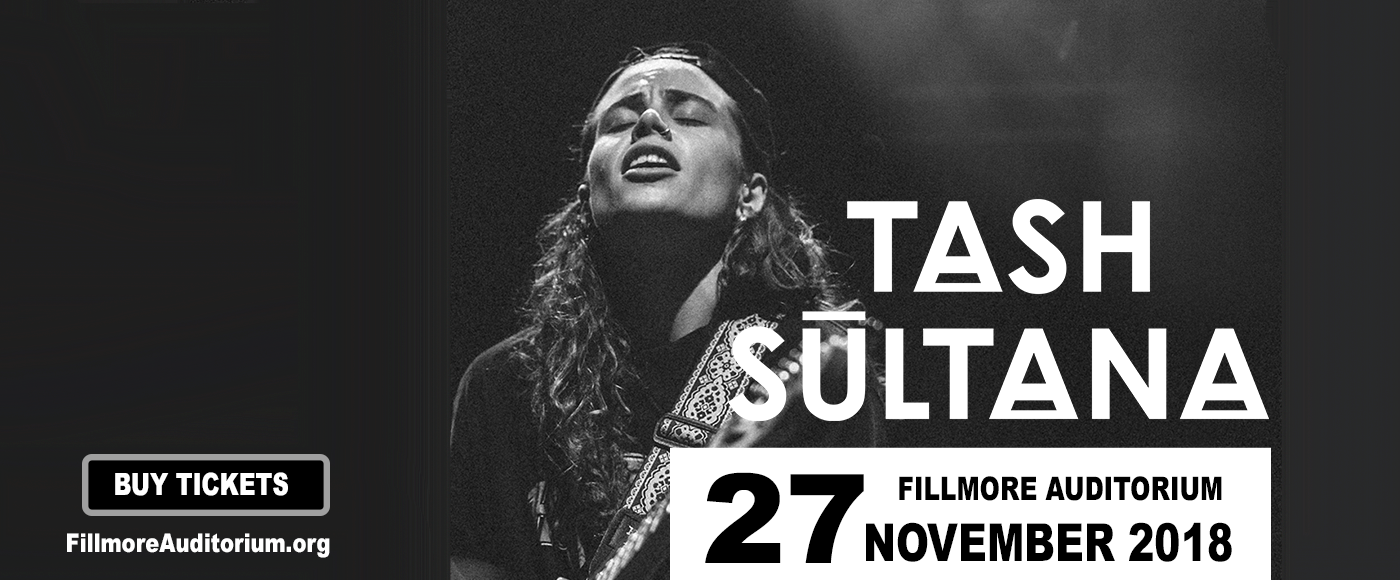 Tash Sultana at Fillmore Auditorium