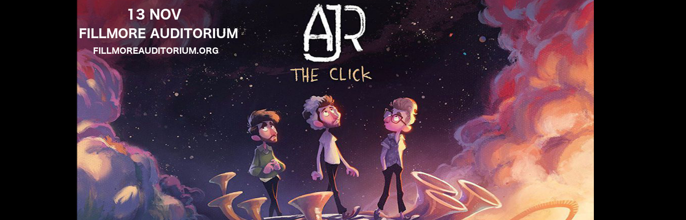 AJR at Fillmore Auditorium