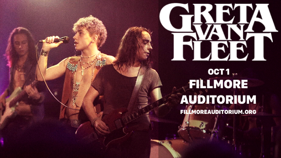 Greta Van Fleet at Fillmore Auditorium