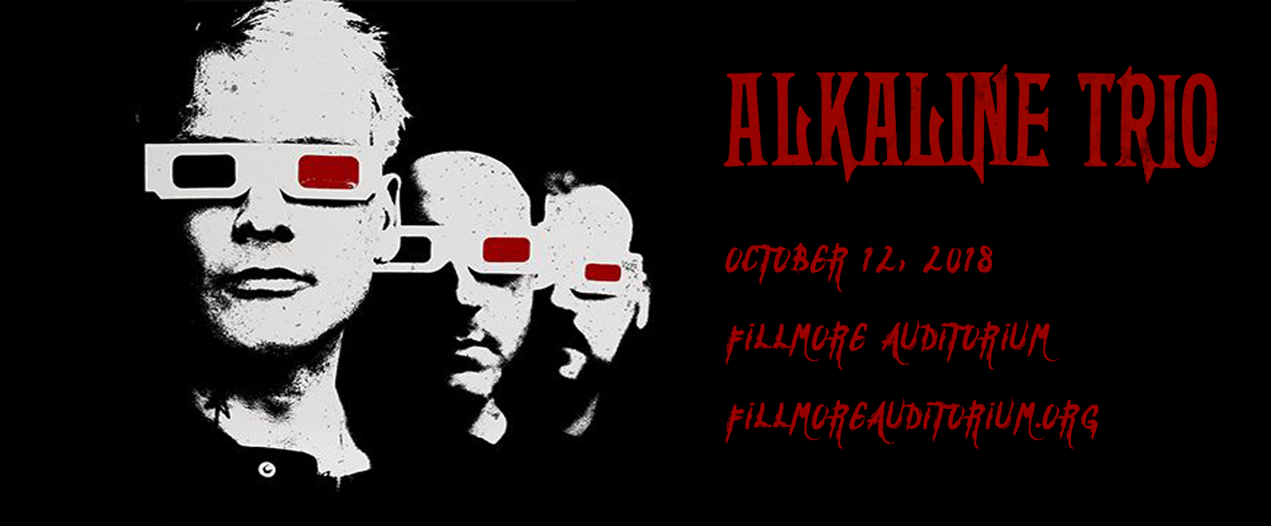 Alkaline Trio at Fillmore Auditorium