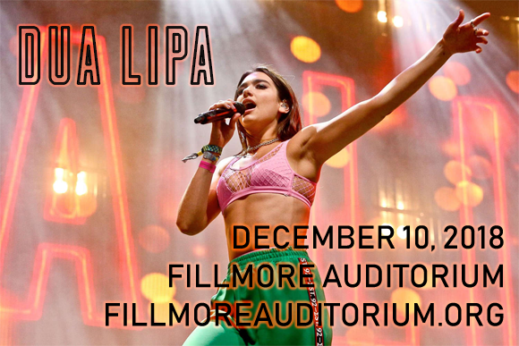 Dua Lipa at Fillmore Auditorium