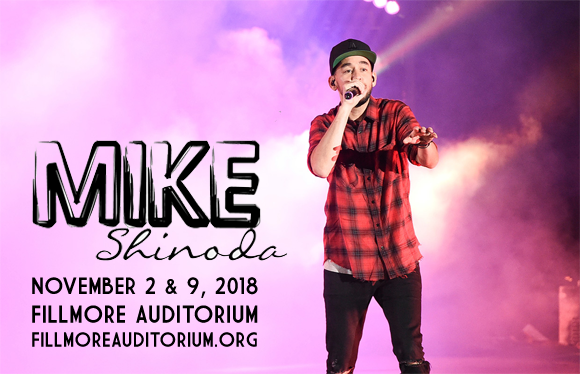 Mike Shinoda at Fillmore Auditorium