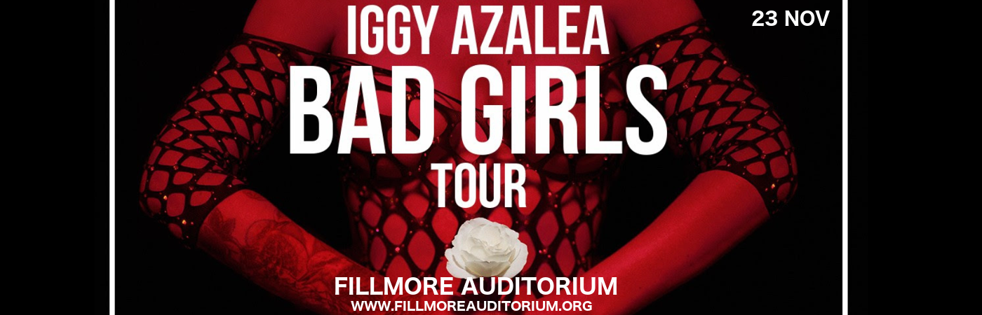 Iggy Azalea at Fillmore Auditorium