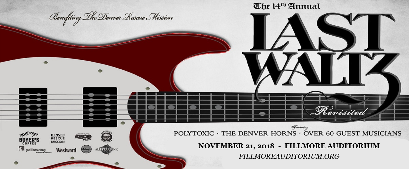 The Last Waltz Revisited at Fillmore Auditorium