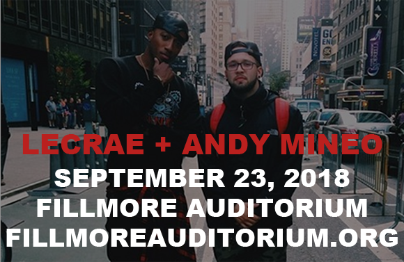 LeCrae & Andy Mineo at Fillmore Auditorium