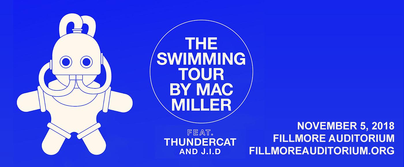 Mac Miller - CANCELLED at Fillmore Auditorium