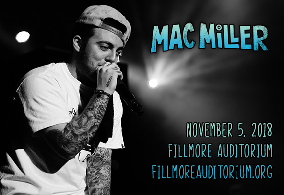 Mac Miller - CANCELLED at Fillmore Auditorium