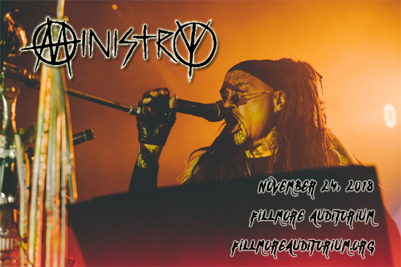 Ministry at Fillmore Auditorium