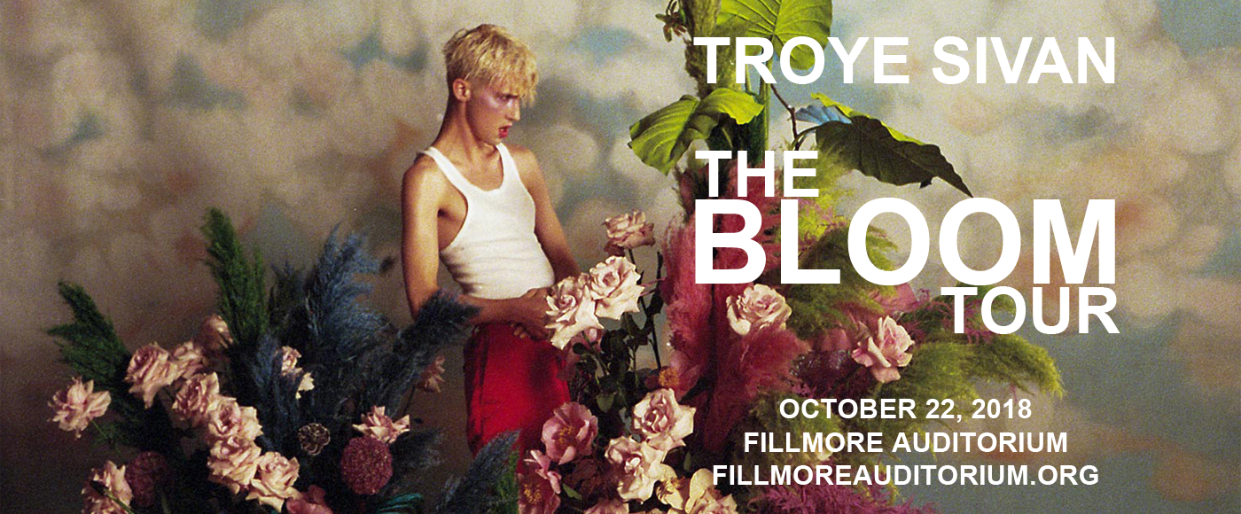 Troye Sivan at Fillmore Auditorium