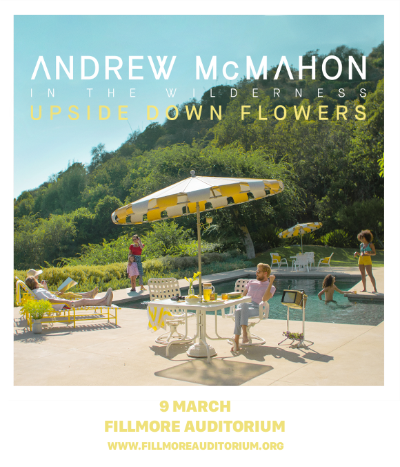 Andrew McMahon in the Wilderness at Fillmore Auditorium