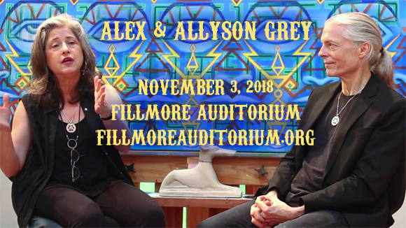 Alex and Allyson Grey at Fillmore Auditorium