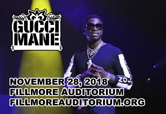 Gucci Mane at Fillmore Auditorium
