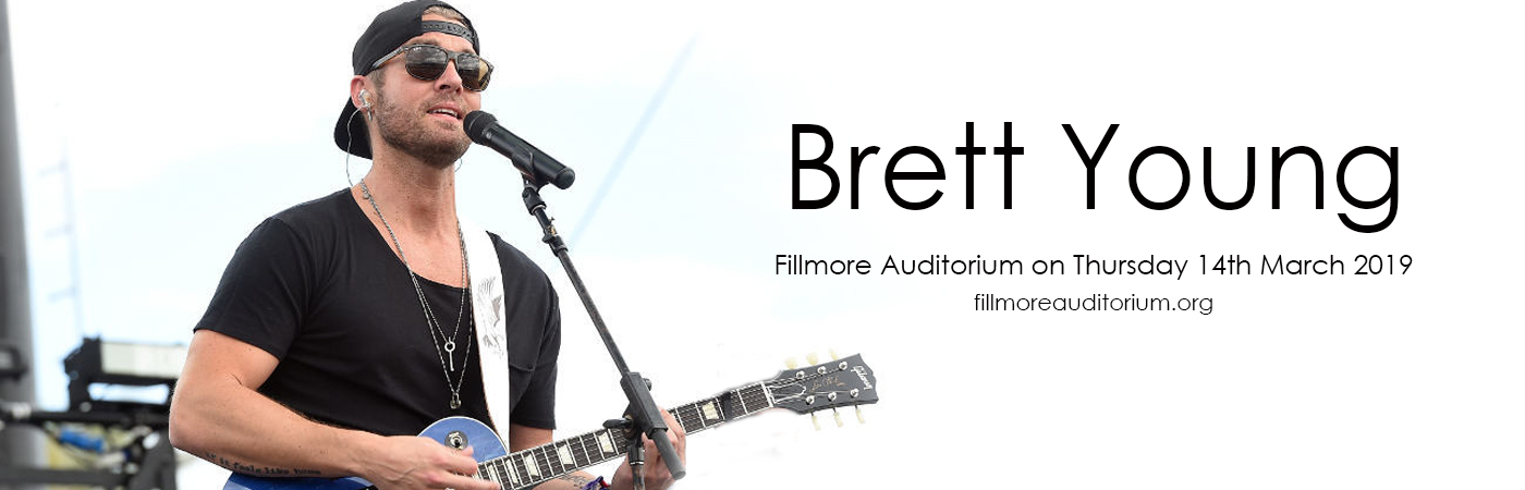 Brett Young at Fillmore Auditorium