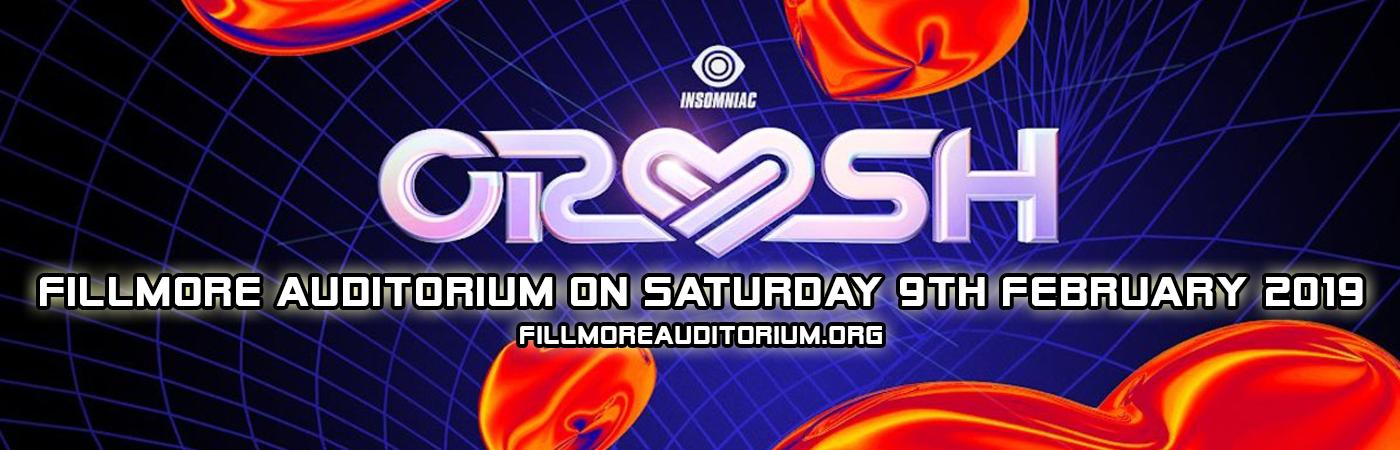 Insomniac CRUSH  at Fillmore Auditorium