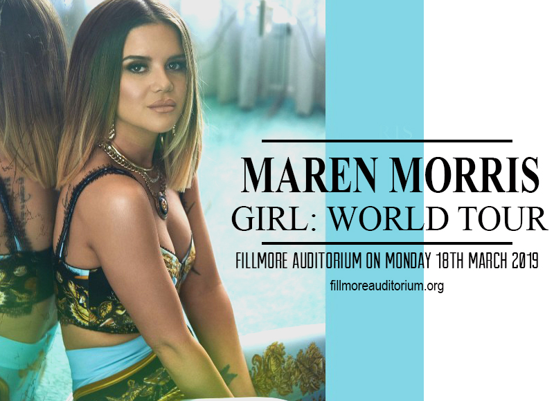 Maren Morris at Fillmore Auditorium